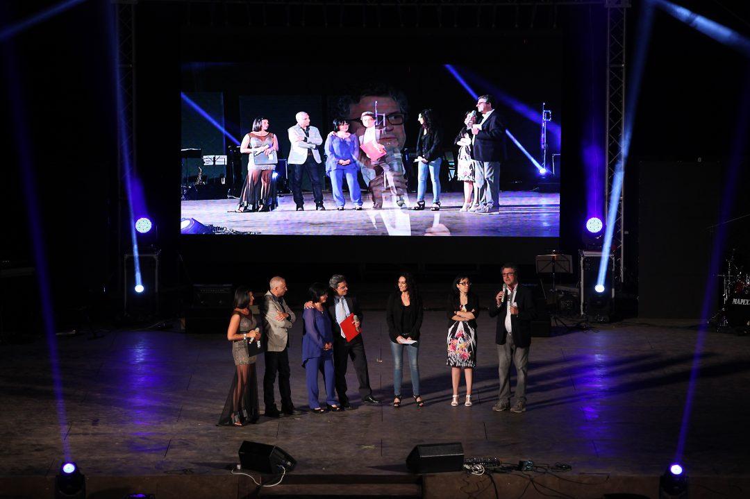 I genitori di Alfredo Tamburello raccontano la storia del loro figlio allo spettacolo Livia con Noi del 18 giugno 2016